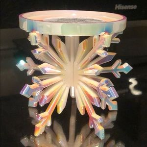 Bath & Body Works Snowflake Candle Pedestals